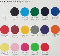 Flexfolie farbig fuer Baumwolle