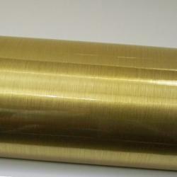Gebürstet Gold PVC 5 Jahre