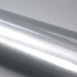 Gebürstet Silber Aluminium PVC