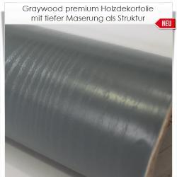 Graywood premium Holzdekorfolie