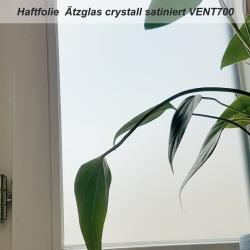 Haftfolie Ätzglas crystall satiniert