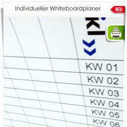Individueller Whiteboard Planer