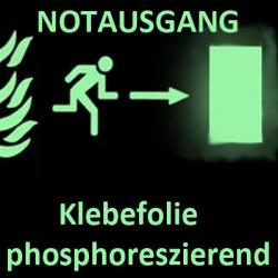 Klebefolie phosphoreszierend