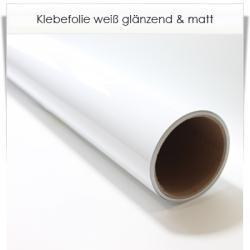 Klebefolie weiß ab 1 Meter 60cm