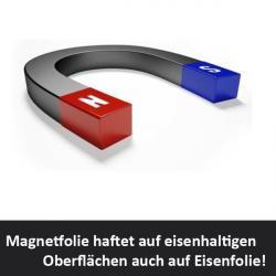 Magnetfolie 0,9 mm