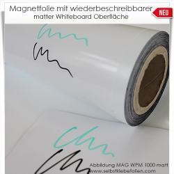 Magnetschilder mit Whiteboardoberfläche matt