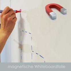 magnetische XXL Whiteboardfolie