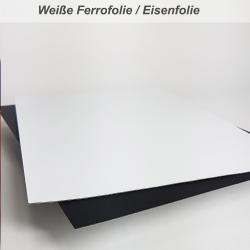 selbstklebende Eisenfolie schwarz DIN Formate
