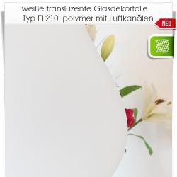 transluzente Milchglasfolie EL210