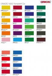 transparent farbige Klebefolie 126 cm