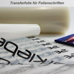 Übertragungsfolie für Folienschriften 30cm Breit