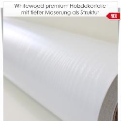 Whitewood premium Holzdekorfolie