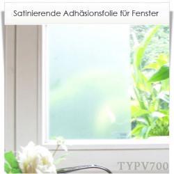 Zuschnitt Adhäsionsfolie Sichtschutz für Fenster