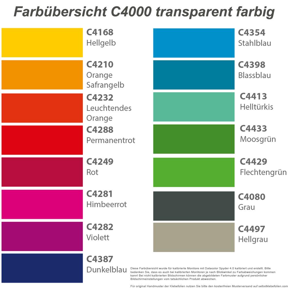 transparente farbige klebefolie f r glasdekoration
